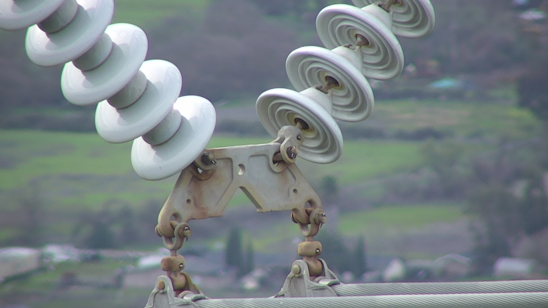 Transmission Line Inspection by Drone in California