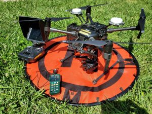 Drones for Thermal inspection of Rooftop Solar