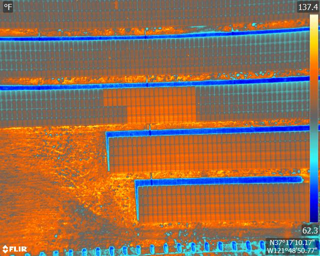 Drones for Thermal Solar Plant Inspections California