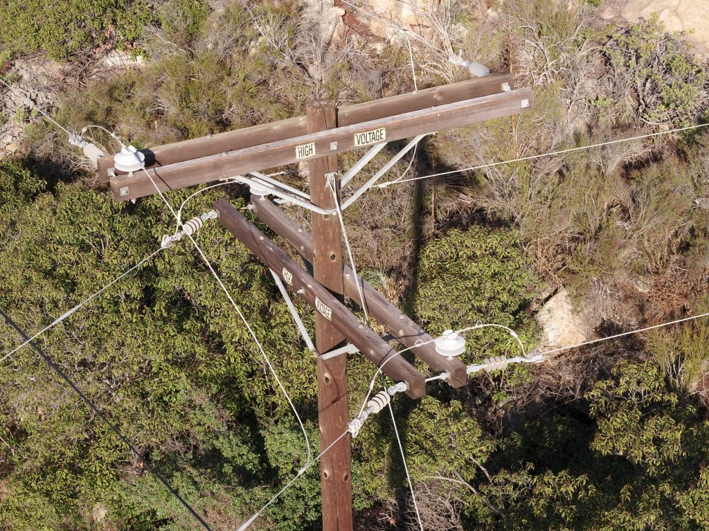 Drone Service Company Power Grid Inspection