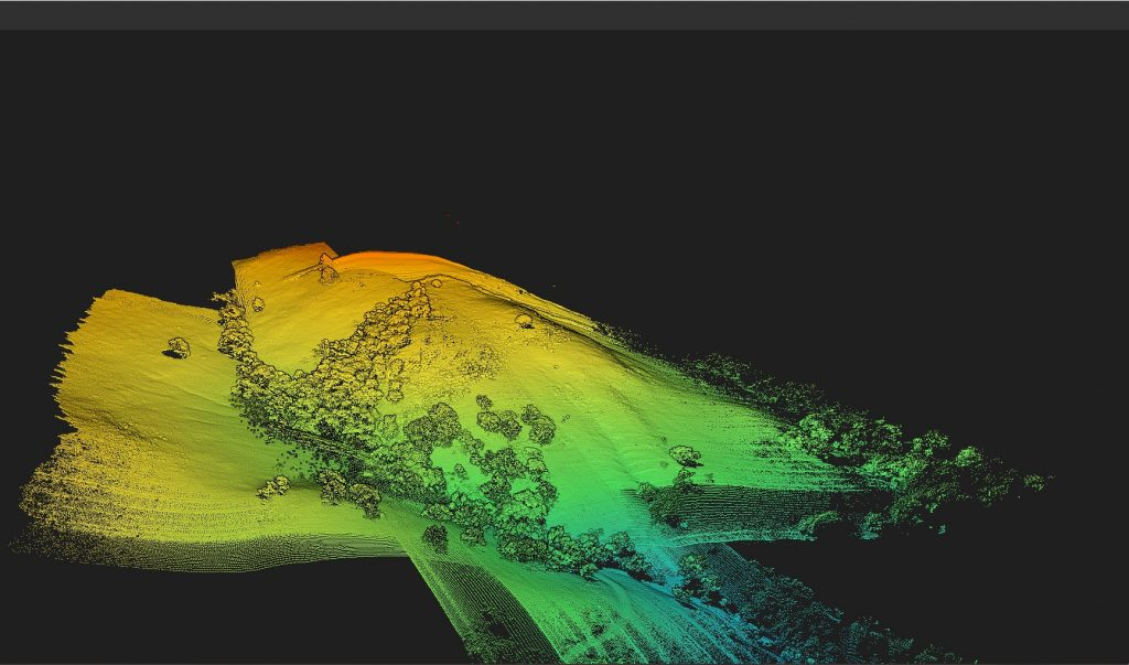 Drone Lidar Services California