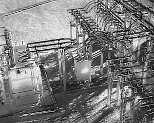 Substation IR Drone Inspection